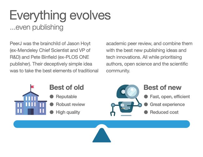 Peerj 5 Years Publishing