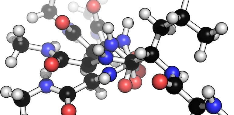 FragBuilder: an efficient Python library to setup quantum chemistry calculations on peptides models