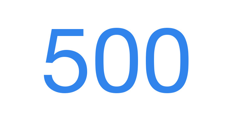 PeerJ publishes its 500th peer-reviewed article